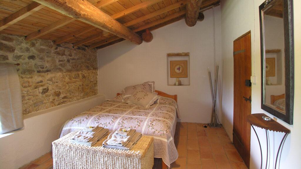 Gîte bedroom - Imagine France