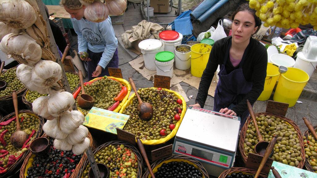 Market in Uzes